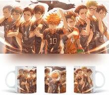 Mug for Anime Asahi HaikyuuAzumane & HaikyuuTsukishima