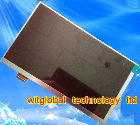"""Новый ЖК-Дисплей Матрица Для 7 """"Ирбис TZ43 30 Pins внутренний ЖК-экран Замены Модуля панели Бесплатной Доставкой"""