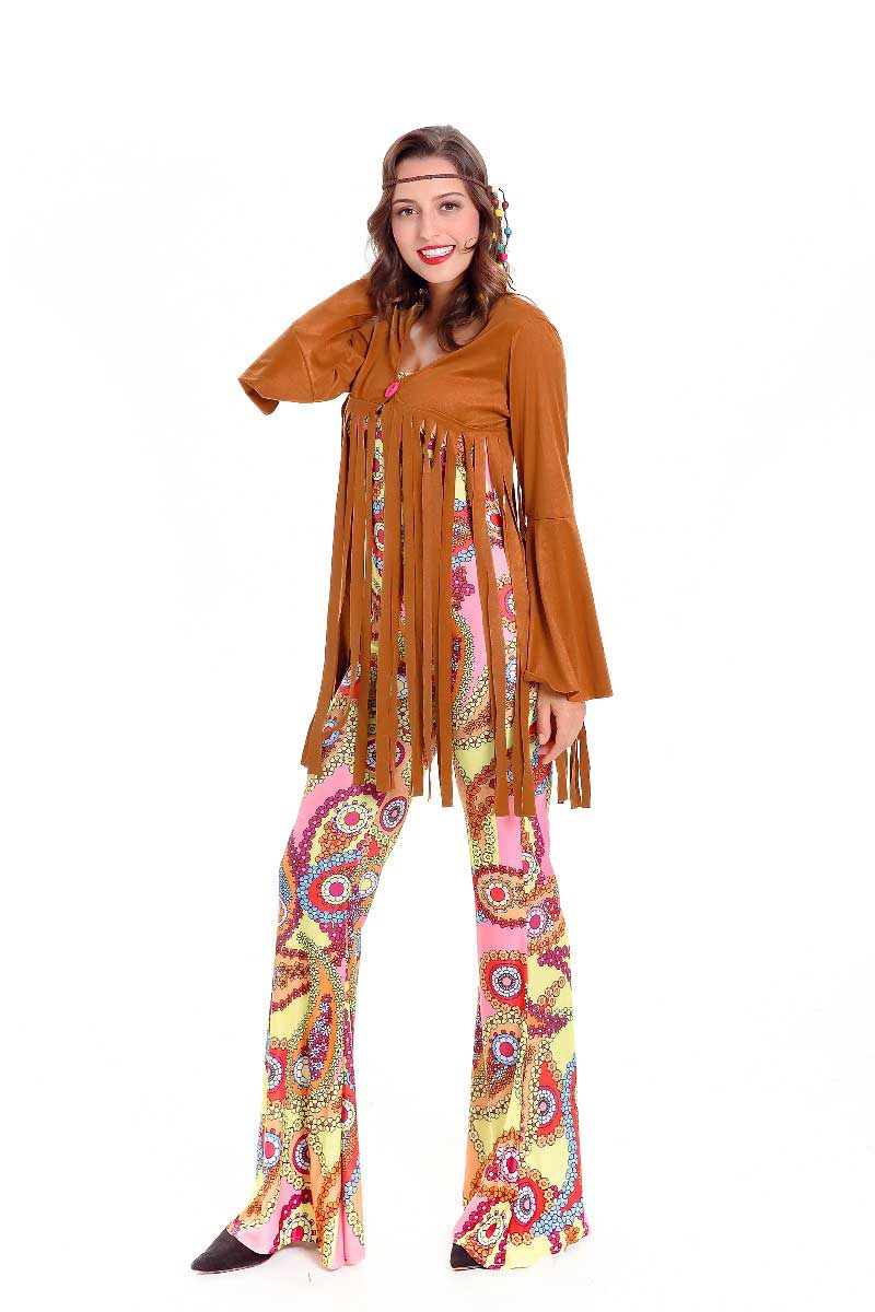 moonight hippie costume american native costumes 70s retro party