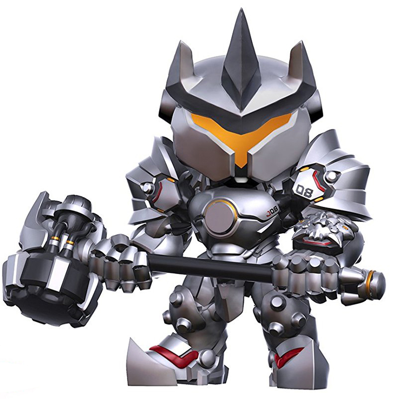 HOT Over Game Watch Reinhardt Wilhelm DVA MEI 16cm OW Action Figures PVC Model toys Christmas gifts for children поло print bar руна ключ к веданию