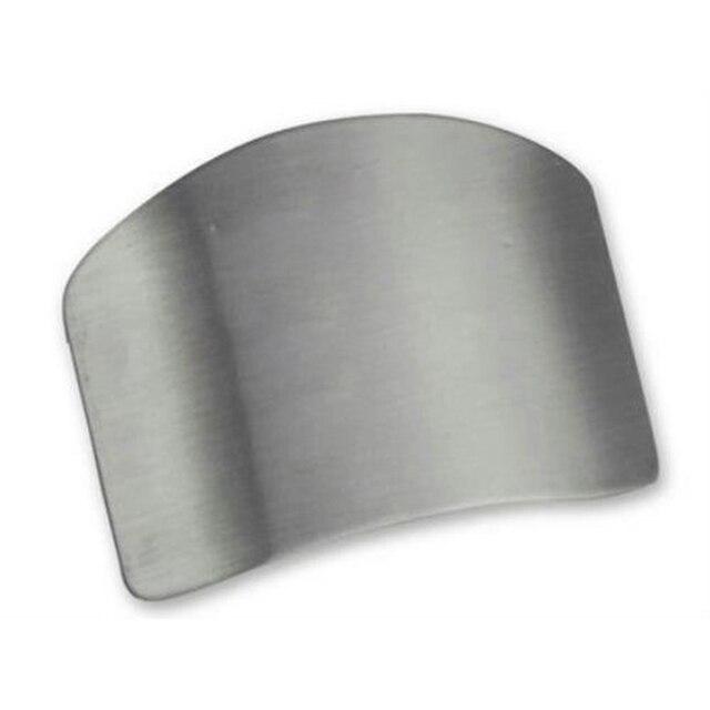 1 Pcs Finger Guard Protect Finger Hand Cut Hand Protector Knife Cut Finger Protection Tool Stainless Steel Kitchen Tool Gadgets 2