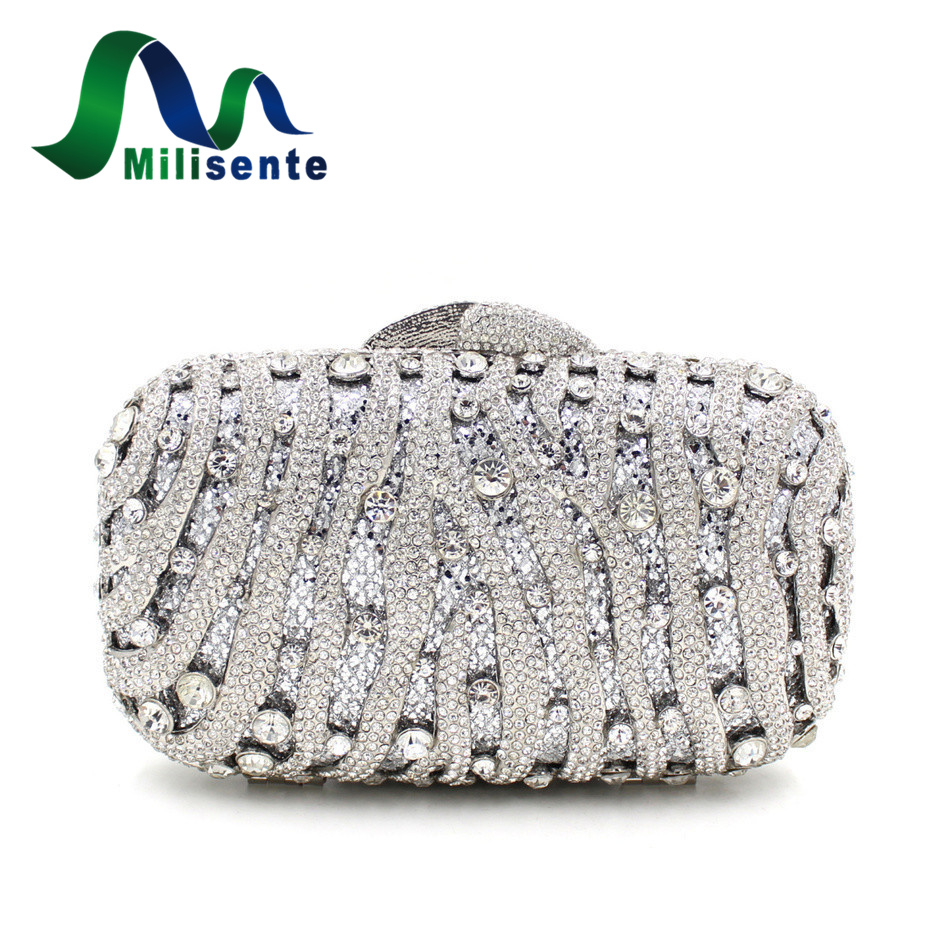 Small Luxury Crystal Bags Chain Box Designer Wedding Diamond Handbags Women Party Purse Ladies Day Clutches Silver Red Mini ths7530evm programmers development systems mr li