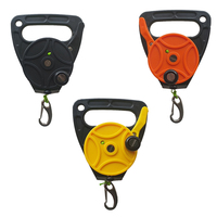 Scuba Dive Reel Anchor Finger Spool Reel with Handle 46m 150ft Line Anchor Equipment Diving Accessories