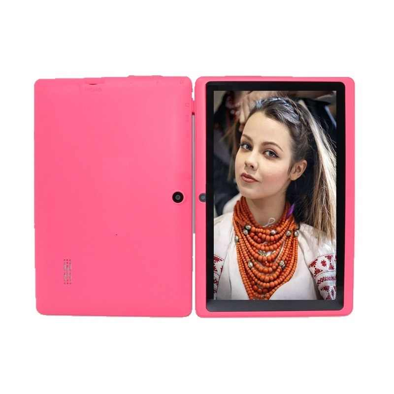 Glavey 7 Polegada q88pro allwinner a33 quad core tablet pc android 4.4 4 gb/8 gb câmera dupla 1024*600 pixels