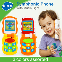 Купить с кэшбэком Free Shipping Huile Toys 766 Mobile with Music/Light puzzle learning baby toys
