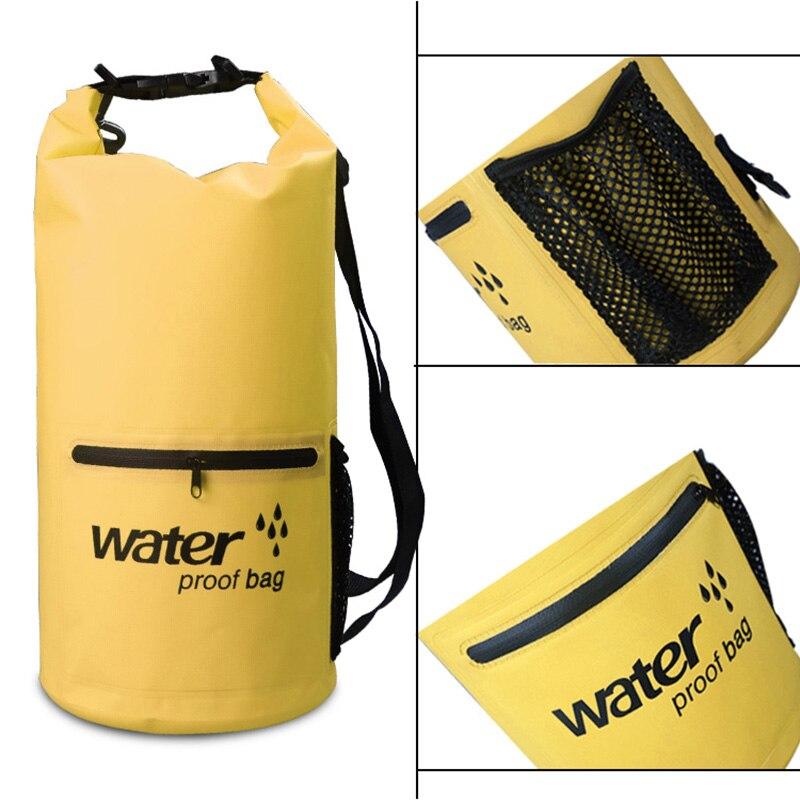 10L/20L Waterproof Dry Bag Pack Sack Swimming Storage Bag Rafting Kayaking River Trekking Floating Sailing Canoing Boating Sport