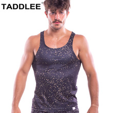 Taddlee Brand Men Tank Top Tees Sleeveless Sports Basketball Gym TShirts Gasp Fitness Stringer Singlets 3D Printed Bodybuilding