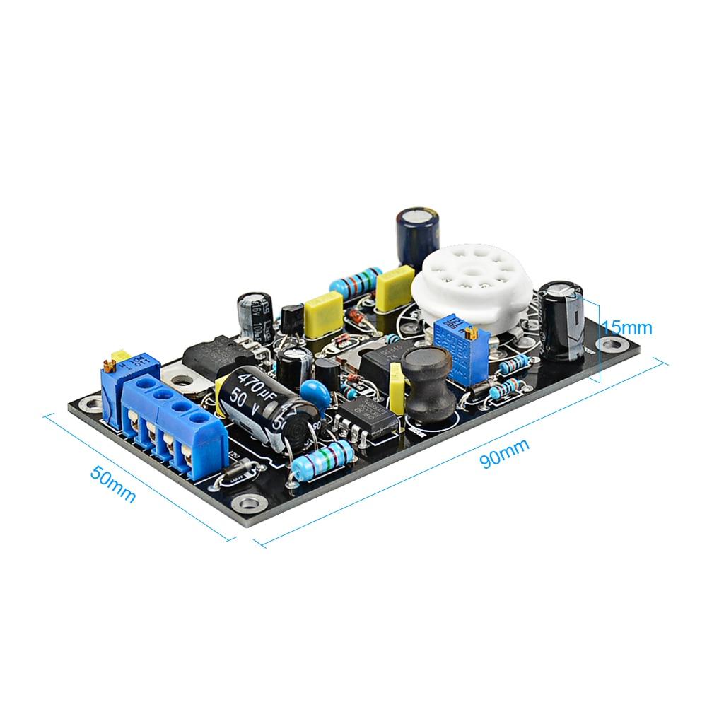 Aiyima 6E2 Tub Drive Drive-amp Tube Amp Board DAC Audio LED Treguesi - Audio dhe video në shtëpi - Foto 3