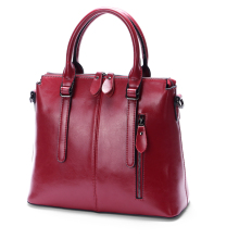 New Arrival 2018 ESUFEIR Brand Genuine leather Women Handbag Soft Leather Fashion Shoulder Bag Large capacity Casual Women Bag