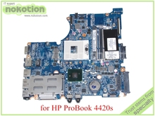 laptop motherboard for hp probook 4420s DASX6MB16E0 599523-001 HM57 GMA HD DDR3