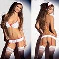 2017 New Cosplay Women Uniforms Sex Underwear Erotic Nurses Sexy Lingeries Hot Body Suit Porno Transparent Erotic Costumes Dress