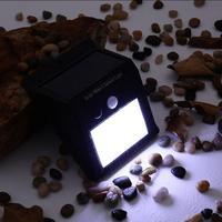 HiMISS 4pcs/lot LED Solar Lamp Outdoor Waterproof Garden Street Light Automatically Lamp Sensor Wall Bulb