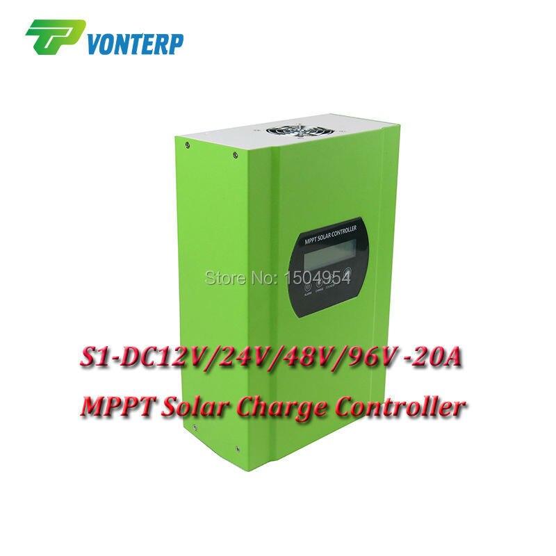 2240W for 96V system 20A  48v 96v MPPT solar charge controller 20A MPPT Solar Charge Controller