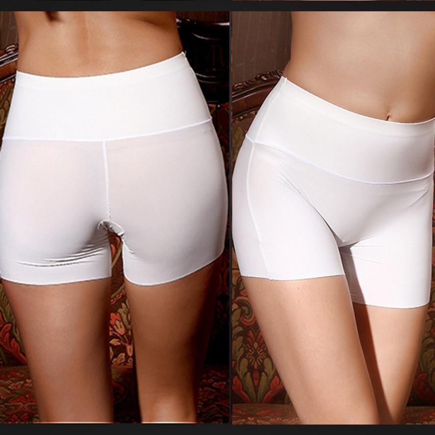 Women Safety Short Pants High Waist Body Underwear Tummy Control Boyshort Shapewear Safety Short Pants Women  JULY26