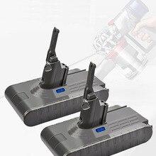 BATTERY Vacuum-Cleaner Animal Absolute SV10 Dyson V8 Li-Ion 4000mah Bonacell for L70