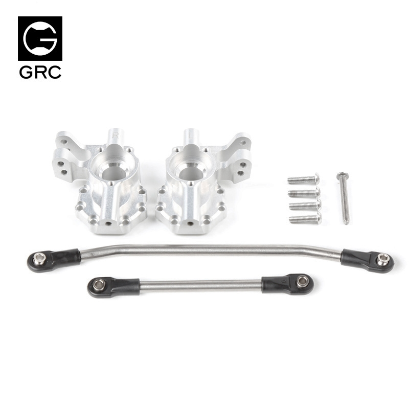 GRC TRX4 GAX0032B steering gear box base high quality T4 metal rod seat Ackerman steering cup rocker arm free shipping