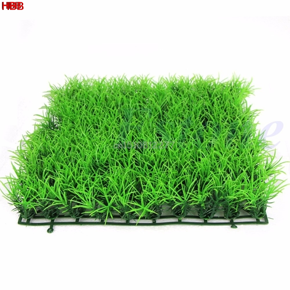 Aquarium Decoration Artificial Water Aquatic Green Grass Aquario Plant Lawn Fish Tank Landscape #h0vh#