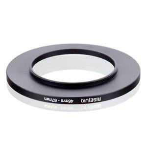 Image 2 - original RISE(UK) 46mm 67mm 46 67mm 46 to 67 Step Up Ring Filter Adapter black