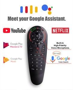 Image 4 - HUACP G30 Air mouse 33 клавиши ИК обучения гироскопа Google голосовой поиск 2,4G Fly Air mouse универсальный пульт дистанционного управления для Smart tv Box