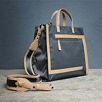 BeDo Ladies Casual Oxford Shoulder Bag Simple Women Tote Zipper Handbag Black Green Vintage Black Green