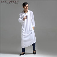 Oriental mens clothing chinese traditional costume men hanfu oriental style clothing mens linen clothing KK2265 Y