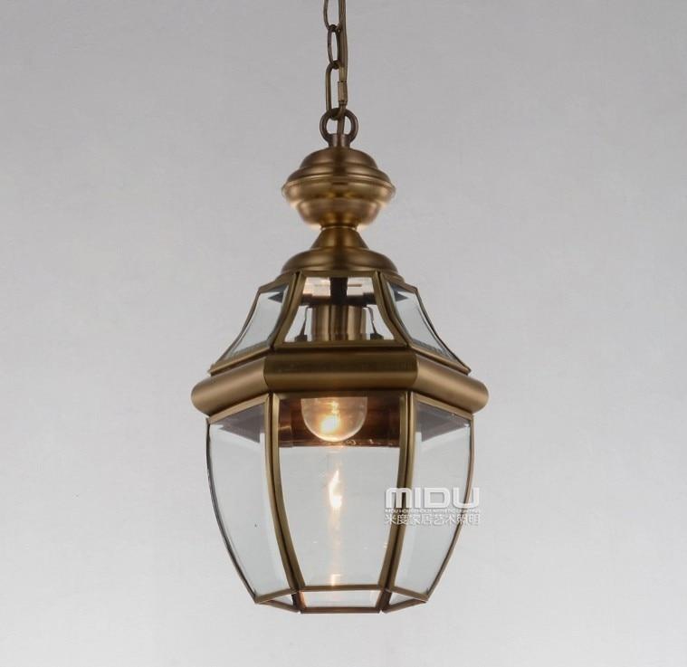 ФОТО Europe Style All copper pendant light fixture for Restaurant bar lighting