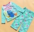 Finding Nemo Pijama Das Meninas do bebê Set Roupa Das Crianças Set Meninas Terno de lã polar Moda Meninas Traje Conjunto Desgaste Dormir