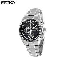 Наручные часы Seiko SSC367P1 мужские с кварцевым хронографом на браслете