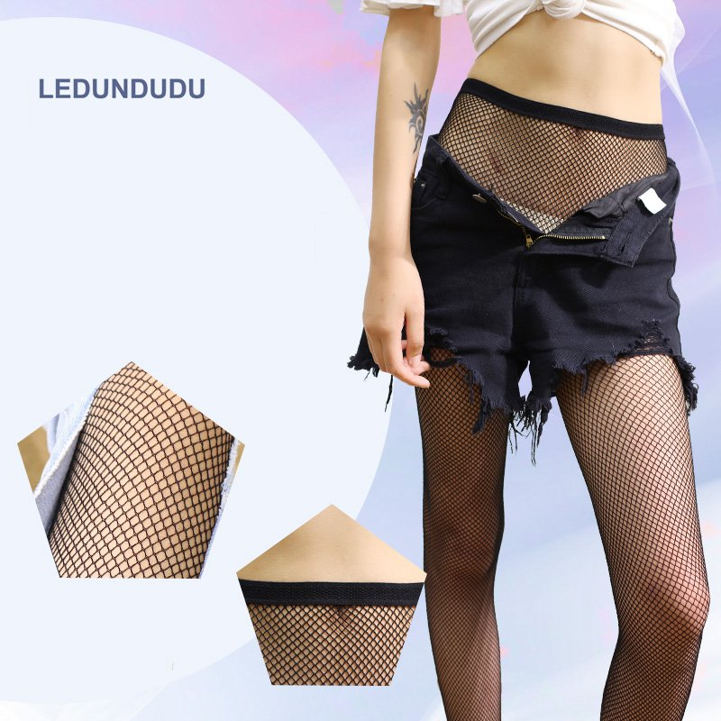 2017 Fashion Women Tight Anime Suicide Squad Harley Quinn Cosplay Fishing net Tights Lady Hollow Sexy Summer Pantyhose|tights anime|anime tights|anime pantyhose - title=