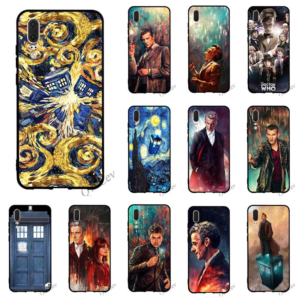 Genteel Print Tardis Box Doctor Who Phone Cover For Huawei P10 Case P8 P20 Pro P9 Lite Mini P Smart Mate 10 20 Silicone Ideal Gift For All Occasions Fitted Cases Cellphones & Telecommunications