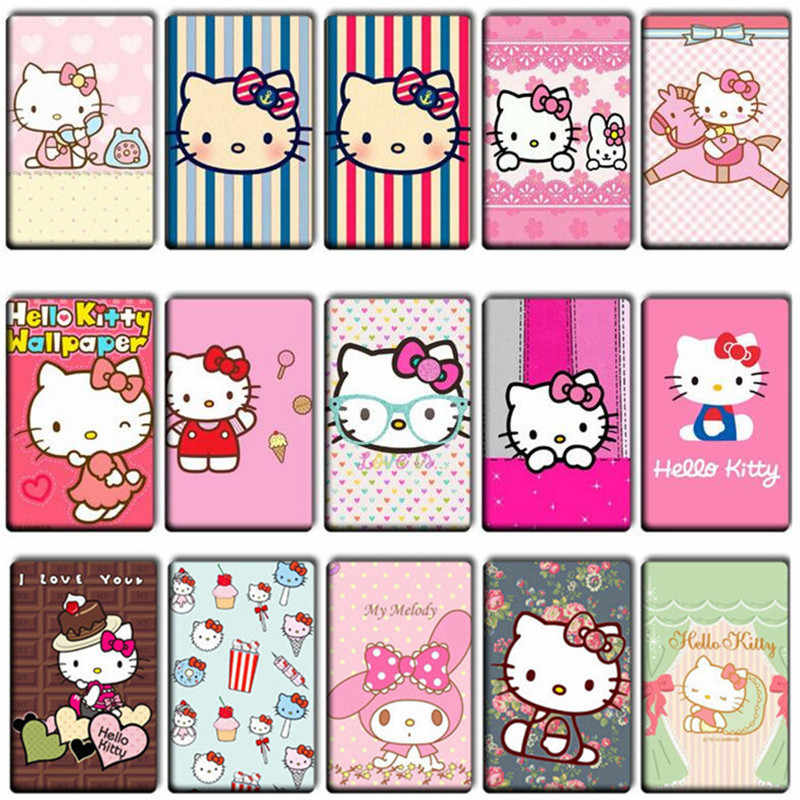 7 pcs/lot Lovely Hello Kitty Anime Stickers Toys girl Cool