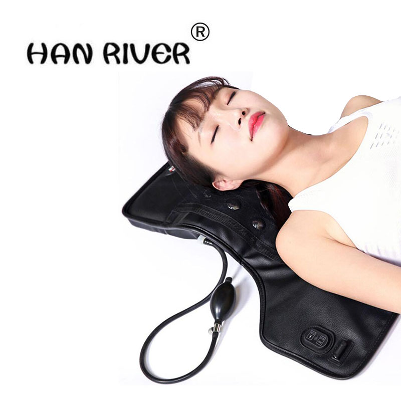 New household multi-function infrared magnetic therapy cervical spine massager kneading massage electrothermal lumbar fields