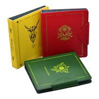 Time Walker Cards Binder Houses For 9 Pockets of Thrones Cards Album Cards Books Board Games Album for MGT/YU GI OH/Pkm/FOW