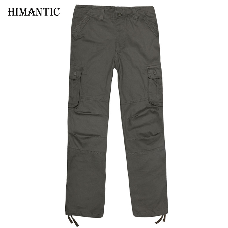 Brand New Men Cargo Pants Casual Pant Multi Pocket Military Overall High Quality Mens Outdoors Long