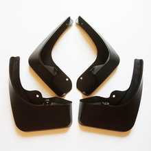 Free Shipping High Quality ABS Plastics Automobile Fender Mudguards Mud Flaps For 2011-2015 Peugeot 508 автомагнитола intro chr 2358 peugeot 508 2011 ie