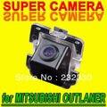 Para mitsubishi outlander coche marcha atrás de estacionamiento de visión trasera cámara ntsc ntsc guía de línea de 170 grados para gps