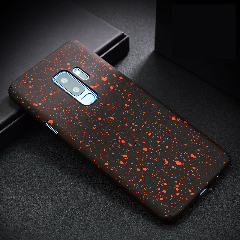 Luckywang for Galaxy Note 8 case Matte For Galaxy S8 plus Case Luxury Mobile Phone Bags