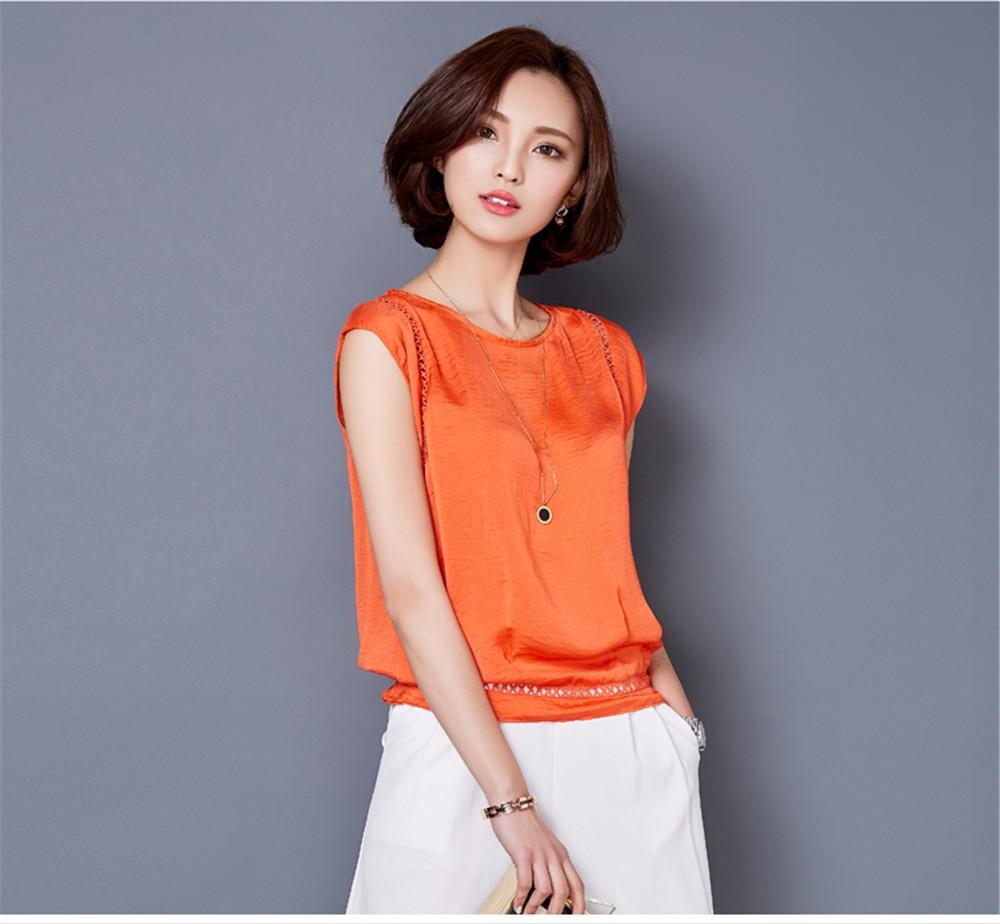 Big Size M-3XL Luxury Chiffon Tank Top For Women Summer Fashion Crop Tops Women\'s Sleeveless Tank Vest Tops Lady Sexy Camis (22)