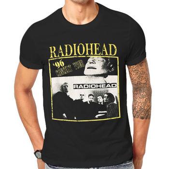 501b15aa3c2c9 Футболка с радиоголовым принтом британская рок-группа, черная футболка,  новая крутая футболка унисекс с графическим принтом, 1-а-153, мужские .
