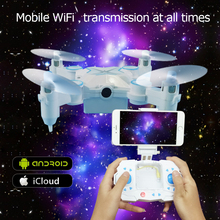 Mini Drone Foldable Wifi HD Camera Headless Mode Wifi FPV 2.4GHz Rc Dron Micro Quadcopters Flying Helicopter aircraft fold