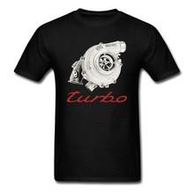Turbo charger Boost T-shirt Mens Cotton printing Shirt Big Size S-XXXL USA SIZE