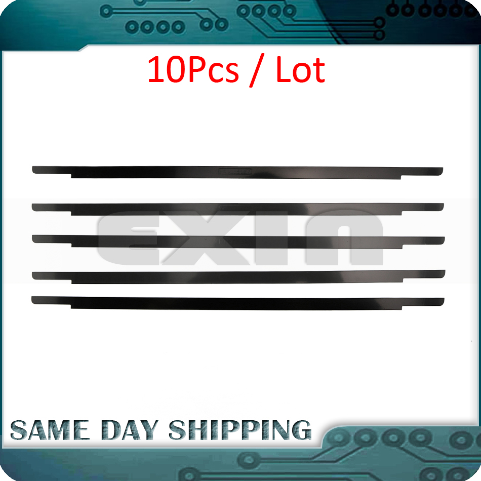 10Pcs New A1706 A1708 A1707 LCD Screen Glass Trim Logo Bezel Front Display Cover for MacBook