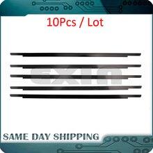 """10Pcs חדש A1706 A1708 A1707 LCD מסך זכוכית לקצץ לוגו לוח קדמי תצוגת כיסוי עבור MacBook Rro רשתית 13 """"15"""" לוח 2016 2017"""