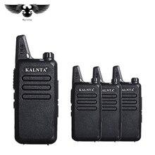 4 piece Mini Walkie Talkie 400-470Mhz Frequency UHF Handheld Radios Comunicador Two Way Radio Mini Walkie Talkie For Hotel