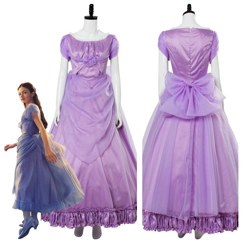 2018 The Nutcracker and the Four Realms Clara Cosplay Costume Cosplay Dress Women Halloween Carnival Costumes