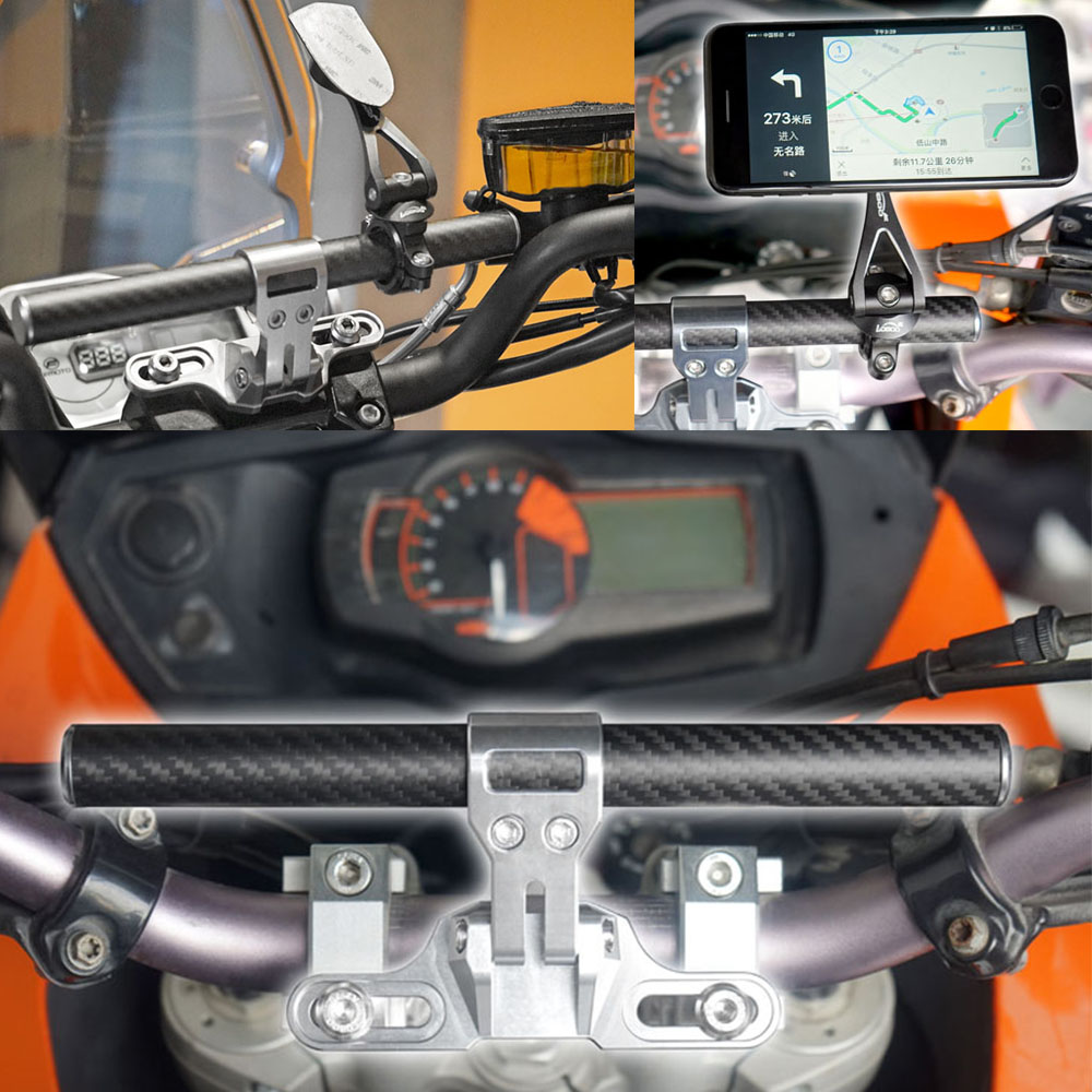 Motor Bike GPS Mount Holder For HONDA CB 1000 R 2008 2017 Smart Bar in Grips from Automobiles Motorcycles