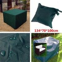 Hot Sale Waterproof 134 70 100cm Outdoor Garden Patio Coffe Table Desk Wooden Chair Furniture Cover