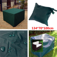 Hot Sale Waterproof 134 70 100cm Outdoor Garden Patio Coffe Table Desk Wooden Chair Furniture Cover