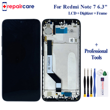 6.3 for Xiaomi Redmi Note 7 LCD Display Touch Screen Digitizer LCD Display + Frame FOR Redmi Note 7 Assembly with Frame 6 26 original lcd for xiaomi redmi note 7 lcd display touch screen digitizer assembly for redmi note 7 pro lcd with frame
