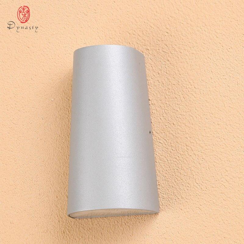 Dinastia moderna de alumínio conduziu a lâmpada de parede à prova de água personalizar luzes de parede produto pátio jardim piscina varanda corredores